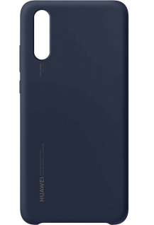 Original Huawei Silikon Case Deep Blue Cover Tasche Schutz-Hülle für Huawei P20