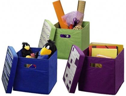 Hama Faltbar Falt-Box Kiste Korb Spielzeug-Box Kleider-Schrank Kinderzimmer etc