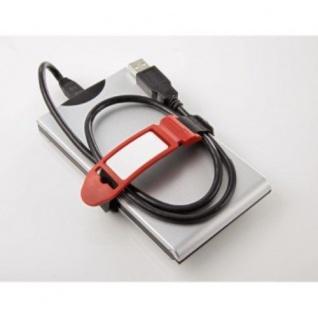 Hama 6er Pack Label the Cable Klett Kabelbinder Kabelklett Klettband Klettbinder - Vorschau 4