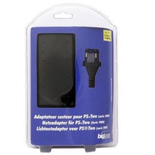Bigben Netzteil AC Adapter Strom-Kabel Ladegerät für Sony PS2 Slim PS 2 Slimline