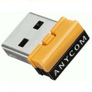 Anycom Nano USB Bluetooth Adapter 2.1 EDR Class 1 bis 100m V2.1 USB-Stick Dongle