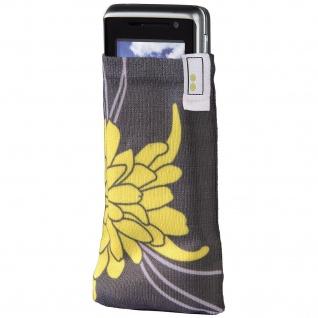 aha Handy-Socke Blossom Handysöckchen Socke Köcher-Tasche Etui Schutz-Hülle Case