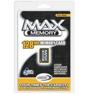 Datel Max Memory Card 128MB 128 MB Speicherkarte für Sony PSP Classic Slim&Lite