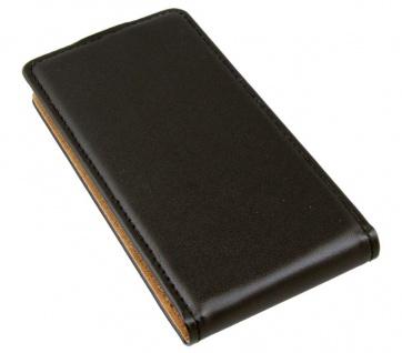 Patona Flip Case Tasche Hülle Cover Etui für Alcatel One-Touch Idol Mini OT-6012