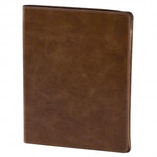 Hama Tasche Alicante Leder braun Smart Case für iPad 3 4 Etui Cover Schutz-Hülle
