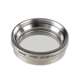 Hama UV-Filter 22mm Speerfilter Magnet Befestigung UV-390 Foto Digital Kamera UV