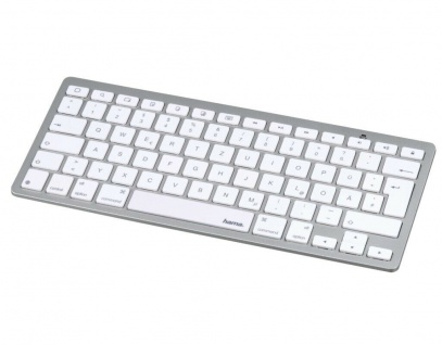 Hama Bluetooth Tastatur BT Keyboard KEY2GO DE QWERTZ für Apple iOS iPad iPhone