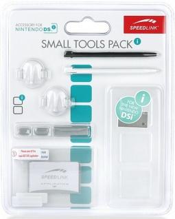 Speedlink 8in1 PACK Schutz-Folie Stifte Game-Case Slot Kappen für Nintendo DSi