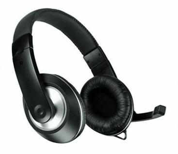 Speedlink Thebe CS Multimedia Headset 3, 5mm Klinke Kopfhörer + Bügel-Mikrofon