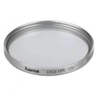 Hama UV-Filter 55mm Digital High Resolution UV vergütet silber Kamera Foto DSLR