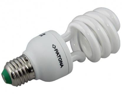 Patona Energiespar-Lampe E27 20W / 100W Spiral Warmweiß Glüh-Birne Leuchtmittel - Vorschau 1