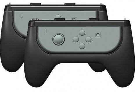 Gioteck Duo Grips Griff-Halterung Halter für Nintendo Switch Joy-Con Controller