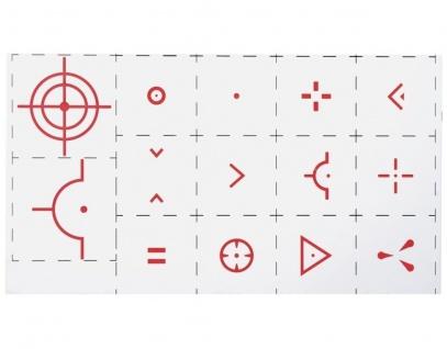 uRage 14x Aufkleber Sticker Faden-Kreuz Ziel Cheat Sniper Tool FPS Ego Shooter