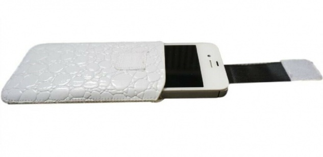 DOLCE VITA Croco Tasche Etui Case Hülle für Nokia Asha 503 501 309 E72 E71 5800 - Vorschau 3