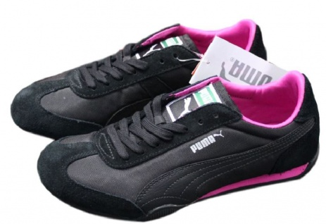 Puma 76 Runner Nylon Retro Sneaker Gr. Damen EUR 35 - 39 Damen Gr. Schuhe Turnschuhe Racer 812730