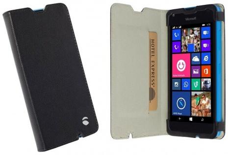 Krusell Folio Wallet Tasche Smart Schutz-Hülle Cover für Microsoft Lumia 550