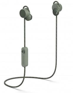 Urbanears Jakan Bluetooth In-Ear Headset Grün Kopfhörer Mikrofon + Fernbedienung
