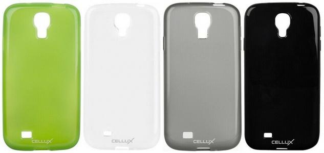 Cellux TPU Back Soft-Case Handy Tasche Cover Schutz-Hülle für Samsung Galaxy S4