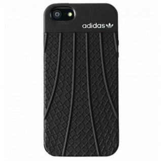 Adidas Skin Cover Case Tasche Schutz-Hülle Schale Etui für Apple iPhone SE 5s 5