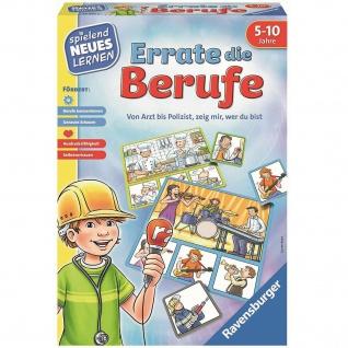 Ravensburger 24991 Errate die Berufe Lern-Spiel Kartenspiel für Kinder Pantomime