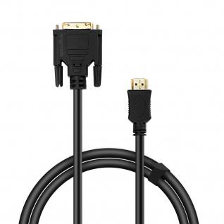 SPEEDLINK DVI zu HDMI Kabel 1.80m HQ Vergoldet 4K PC Monitor Beamer