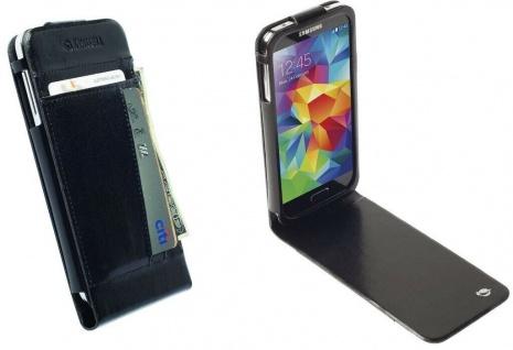 Krusell Folio Tasche Smart Hülle Case Cover Wallet für Samsung Galaxy S5 Mini