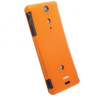 Krusell Cover orange Tasche für Sony Xperia TX LT29i Bumper Schale Hard-Case Bag