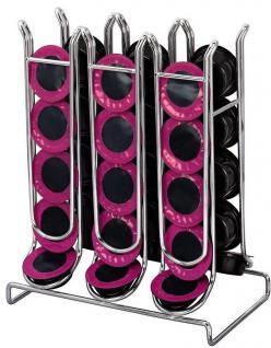 Hama Kapsel-Ständer Halter Kapsel-Spender für 30x Tchibo Lavazza Kapseln Caps