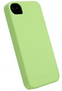 Krusell BIO Cover grün für Apple iPhone 4 4S Bumper Schale Schutz-Hülle Hardcase