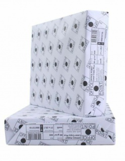 Papyrus Office Point Kopier-Papier 80g/m² DIN A4 2500 Blatt Weiß Drucker-Papier