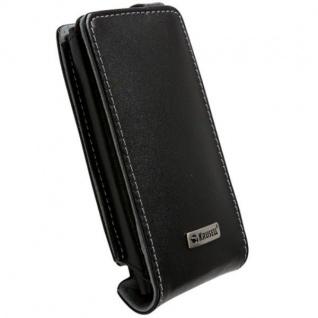Krusell Orbit Flex Case Clip Leder-Tasche f. Nokia Lumia 800 Etui Flap Bag Hülle