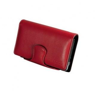 Hama Leder-Tasche Case Hülle Etui Bag Rot für Nintendo DSi NDSi Konsole