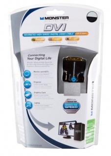 Monster 2, 43m DVI-Kabel Anschluss-Kabel DVI Digital Monitorkabel LCD LED TV HD