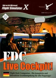 FDC Live Cockpit Add-On für Microsoft Flight Simulator X Flugzeuge