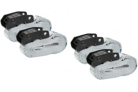 Master Lock 4x Profi Spanngurt 2, 5m 25mm 150kg Zurrgurt Gurt Auto Sicherungsgurt