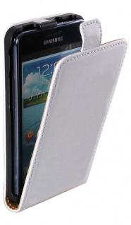 Patona Slim Flip Klapp-Tasche Schutz-Hülle Cover für Samsung Galaxy I9100 SII S2