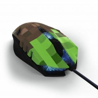 Hama uRage Gaming-Mouse Morph Bloxx Kabel-Maus PC LED 2400dpi 6 Tasten Omron