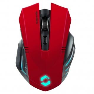 Speedlink Fortus Kabellose Gaming Maus Wireless dpi-Schalter Optisch LED für PC