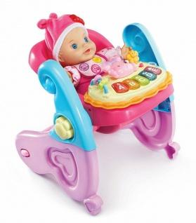 Vtech Little Love Serie 4in1 Baby-Schale Puppen-Zubehör Puppen-Trage Wippe - Vorschau 4