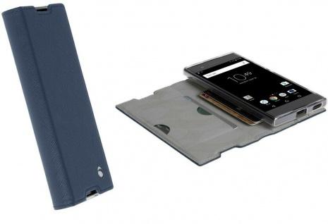 Krusell Folio Wallet Tasche Smart Schutz-Hülle Case Cover für Sony Xperia XA1
