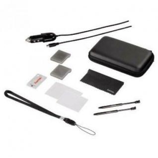 Hama 12in1 PACK Tasche Game-Case Folie Kfz Ladegerät etc für Nintendo 3DS DSi ..