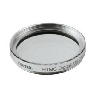 Hama UV-Filter 62mm UV Filter Speerfilter HTMC-vergüted für DSLR DSLM Objektiv