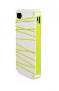 Macally Design Cover Schutz-Hülle Hard-Case Schale Tasche für Apple iPhone 4S 4