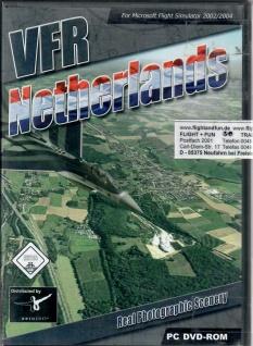 VFR Netherlands Flugsimulator FS2002/2004 Helikopter Niederlande