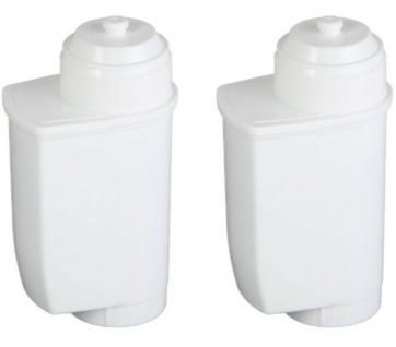2x Pack ScanPart Wasserfilter Kaffeevollautomat für Bosch Brita Intenza TCZ7003