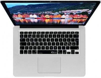 Tastatur-Abdeckung Skin Cover Deutsch auf NO SWE DNK Layout für MacBook Pro Air