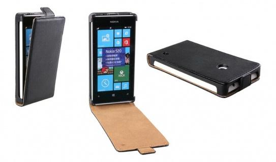Patona Slim Flip-Cover Klapp-Tasche Schutz-Hülle Cover Case für Nokia Lumia 520