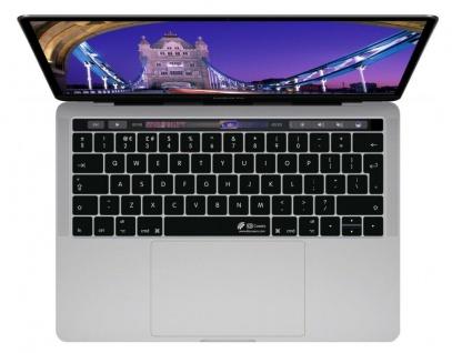 """KB Tastatur-Abdeckung Englisch UK ENG Schutz-Cover Skin für MacBook Pro 13"""" 15"""
