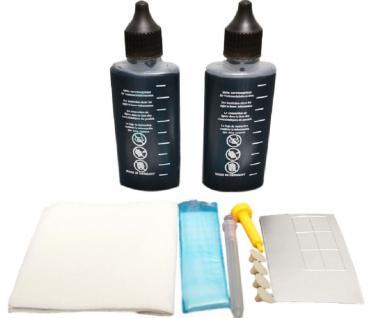 Hama Refill Set Nachfülltinte Schwarz Druckertinte Tinte für HP Drucker Nachfüll