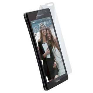 Krusell Displayschutzfolie Schutzfolie Folie Klar clear für Sony XPERIA TX LT29i